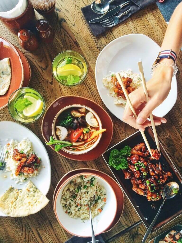 que comida comen los chinos
