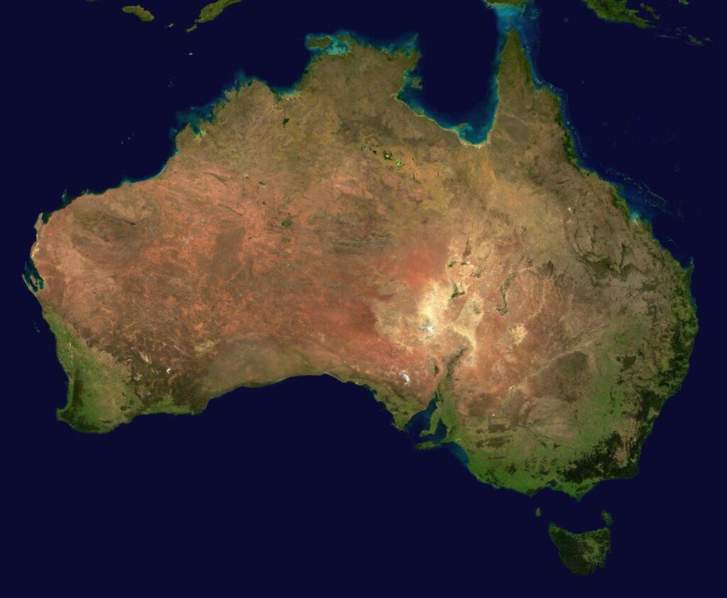 que animales encontro darwin en australia